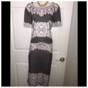 New 2 piece skirt set with tags